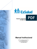 Manual Institucional ESSALUD