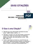 Normatização de Documentos - Citações - FABICO-UFRGS
