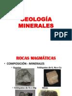 GEOLOGÍA  MINERALES