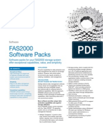 Fas2000 Series Software Packs Datasheet