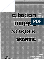 83 Citation Mirage Nordik Skandic 1