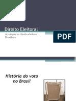 Direito Eleitoral Power Point (1)
