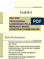 Tajuk 5 - Penyusunan k p Konstruktivisme Inkuirii