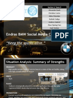 Endras BMW Social Media Campaign Pitch