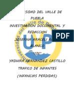 TRAFICO DE INFANTES