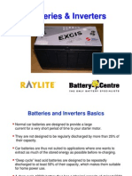 Batteries and Inverters
