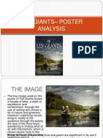 The Giants - Poster Analysis