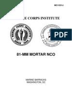 81MM Mortor NCO