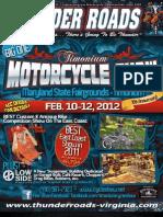 Thunder Roads Virginia Magazine  - December 2011
