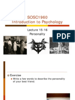 Lecture++15 16+Personality Posting