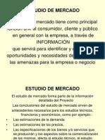 Clase - Estudios de Mercado