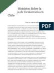 Ensayo Histórico Sobre la Ausencia de Democracia en Chile