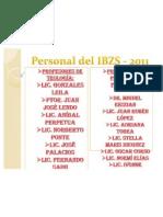 Personal Del IBZS