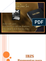 Texto Lema y Nuevas Propuestas 2012