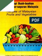 Resepi Buah2an & Sayur2an Malaysia