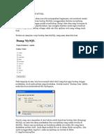 Backup Database Mysql