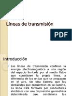 Lineas de Transmicion Pre 1