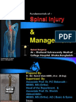 Fundamentals of – Spinal Injury & Management, And Spinal Surgery