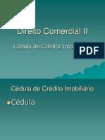 Cédula de Crédito Imobliário