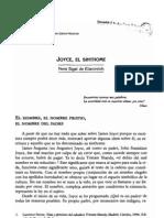 Joyce, El Sinthome