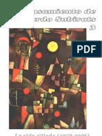 El pensamiento de Eduardo Subirats 3 LA VIDA SITIADA (1978-2006)
