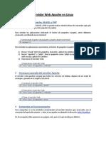 Servidor Web Apache en Linux Errata