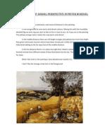 An Analysis of Aerial Perspective in Pieter Buregel