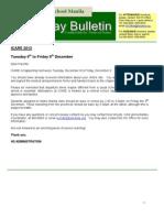 HS Friday Bulletin 12-02