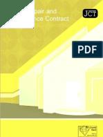 JCT - Home Repair & Maintenance Contract