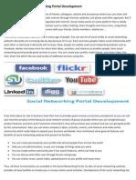 Advantage of Social Networking Portal Development