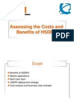 Assessing the costs and benefits of HSDPA