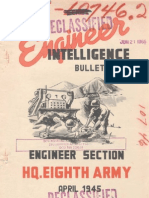 WWII 8th Army Engineers Section