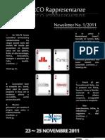Newsletter 1.2011 - do MarediModa 2011 Intro