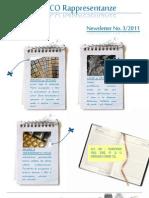 Newsletter 3.2011 - do MarediModa 2011 AL-TI