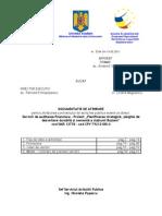 Document a Tie de Atribuire - Auditare Finaciara Busteni
