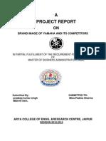 Final Report Yamaha
