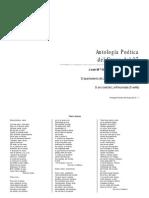 Antologia Poetica Genaracion Del 27