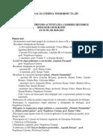 Analiza Swot Privind Activitatea Comisiei Metodice Biologie