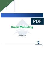 Green Marketing June 2010