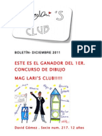boletin diciembre 2011 MAG LARI'S CLUB