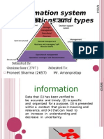 Types of Info Sys
