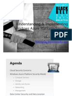 Understanding and Implementing Windows Azure Platform Security_Lai Hoong Fai