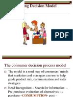 Buying Decision Model