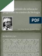 Uso do método de educação piagetiano no ensino
