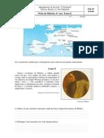 Ficha de Trabalho Renascimento Reforma Protestante