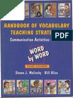 Handbook of Vocabulary Teachin Strategies