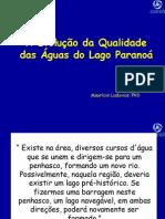 20110512_A Evolução da Qualidade das Águas do Lago Paranoá - Maurício Luduvice