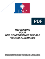 Rapport Chartier Convergence Fiscale Franco Allemande Isf