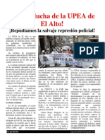 Laprotesta 20 UPEA