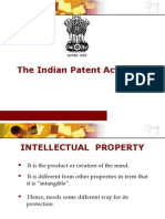 The Indian Patent Act ,1970